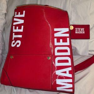 Red Steve Madden Backpack